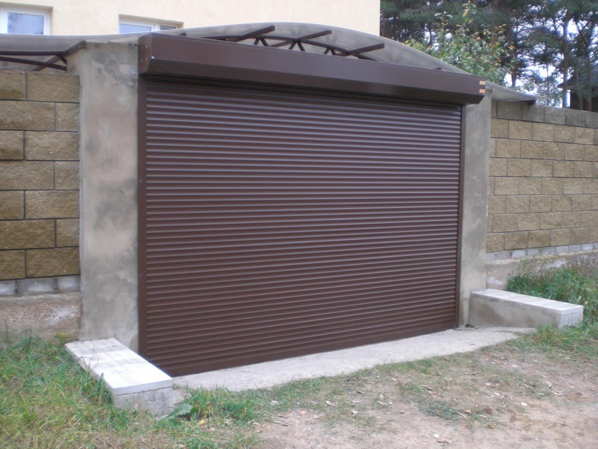 ворота рулонные в гараж с ценой
